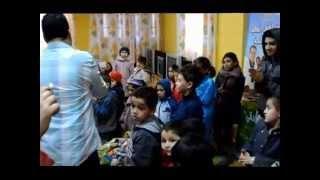 Visite des enfants malades à l'hôpital de Beni Messous à Alger