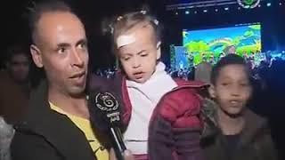 Couverture Yazid Show A Constantine ENTV  تغطية حفل عمو يزيد لفائدة الأطفال  بقاعة الزينيت قسنطينة